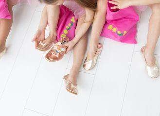 Rolly bag vrečke za copate roza 1