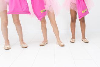 Rolly bag vrečke za copate roza 2