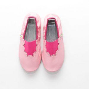 Šolski copati roza joy deklice