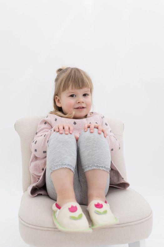 Vrtčevski copati toddler girl rolly malček deklica